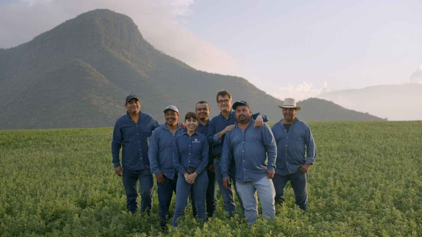The NUTRILITE Mexico farming team
